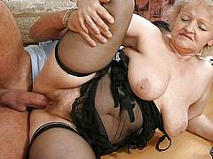 Really hot grannies fucking